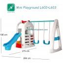 Lerado – Mini Playground Slide & Swing L602+L603