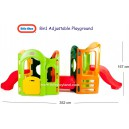 Little Tikes – 8 in 1 Adjustable Playground