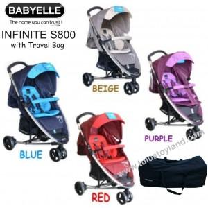 Babyelle – Infinite Stroller S800