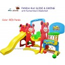 Labeille – Panda 4 in 1 Slide & Swing Grow Activity KC1003 C