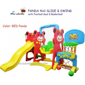 Labeille – Panda 4 in 1 Slide & Swing Grow Activity KC523 C