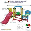Labeille – Panda 4 in 1 Slide & Swing Grow Activity KC1003 C