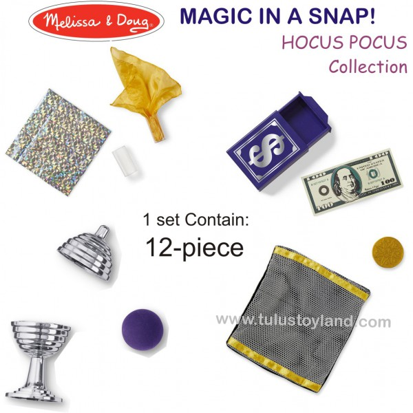 Melissa And Doug Magic In A Snap Magic Geared For Kids
