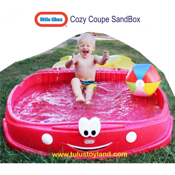 Little Tikes Cozy Coupe Sandbox Sand Building And Sand Box