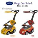 Pliko – Ride On 803 Mega Car 3-in-1