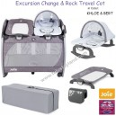 Joie - Excursion Change and Rock Travel Cot