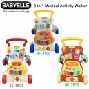 Babyelle – 8 in 1 Musical Activity Walker