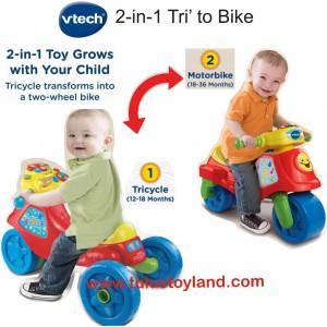 Vtech – 2 in 1 Tri To Bike