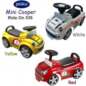 Pliko - Ride On 536 Mini Cooper