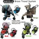 Babyelle – Stroller Bravo Travel System S503