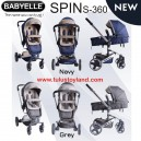 Babyelle Stroller Spin S360 NEW Fabric