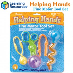 Learning Resources - Helping Hands Fine Motor Tool Set