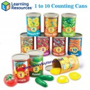 Learning Resources - 1 to 10 Counting Cans