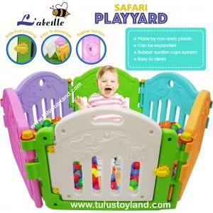Labeille Safari Play Yard Kc002 1 Pagar Bermain Anak