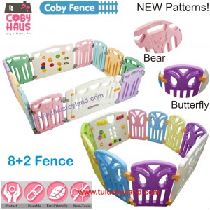 Coby Haus – Coby Fence 8 + 2 Playard