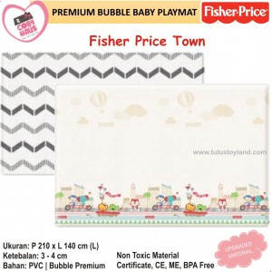 Coby Haus – Premium Bubble Playmat Fisher Price Town (L)