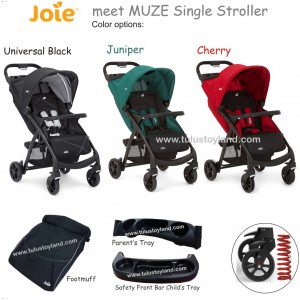 Joie – Meet Muze Single Stroller