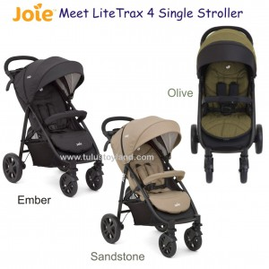 Joie – Meet Litetrax 4 Single Stroller