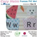 Cozy Heim – Premium PVC Playmat by Parklon (Size M)