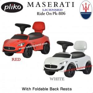 Pliko - Ride On 806 MASERATI