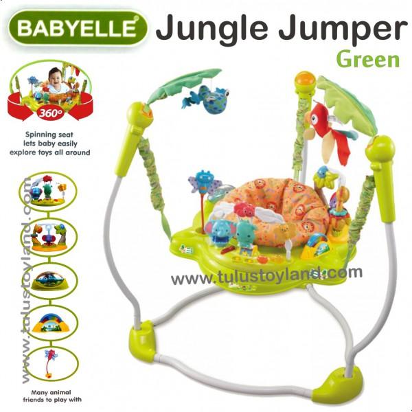 babyelle jungle jumper rainforest jumperoo baby exersaucer