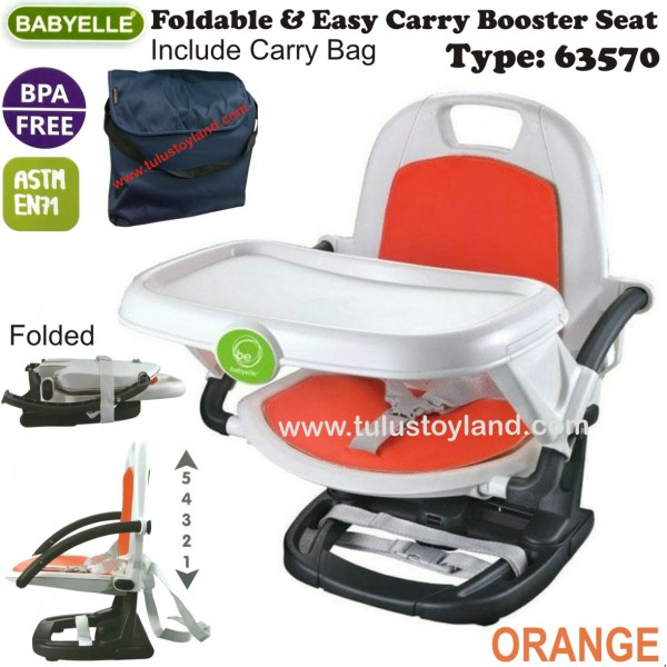 900a10bee21e Babyelle Foldable   Easy Carry Booster Seat 63570
