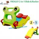 Labeille – FROGGY 2 in 1 Slide n Rocker KC101