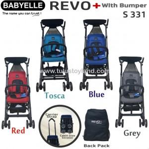 Babyelle – New Revo Plus Bumper Stroller S331
