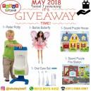 Giveaway Tulus Toyland Mei 2018