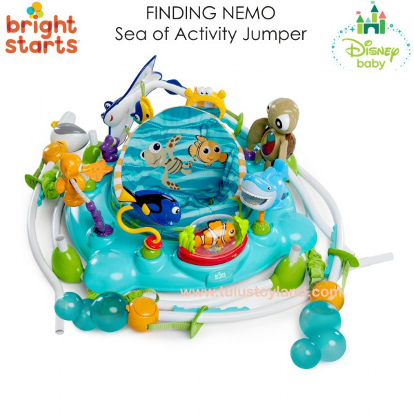 3e4be1fc5 Bright Starts - Disney Baby Finding Nemo Sea of Activities Jumper