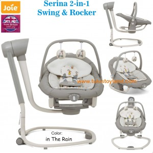 Joie – Serina 2in1 Swing and Rocker in The Rain