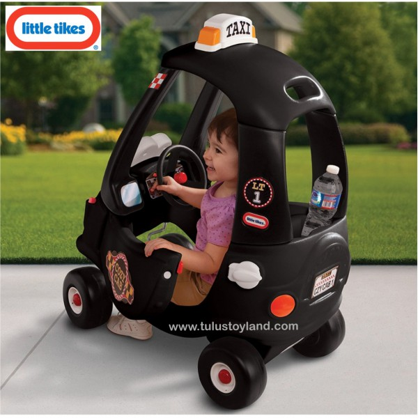 Little Tikes Cozy Coupe Black Cab Ride On Toys