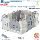 Parklon - Premium Fence Magic Castle 10+2