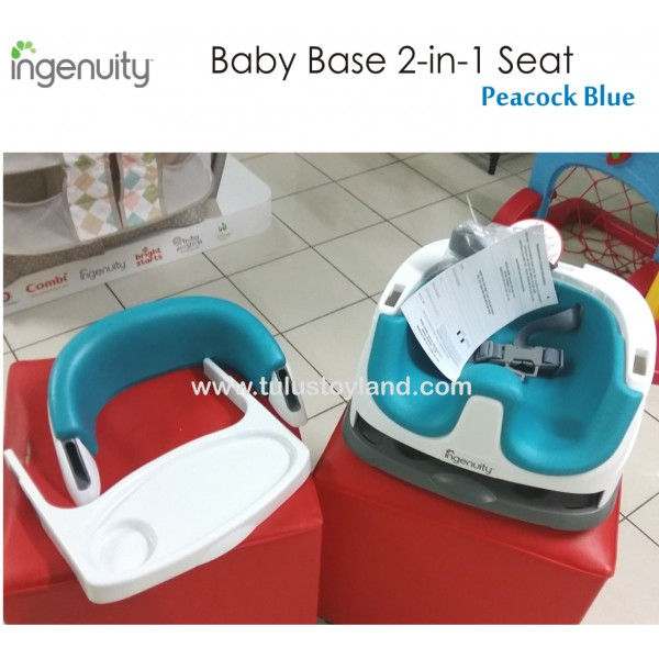 Ingenuity Booster Seat Baby Base 2 In 1 Compact Packaging