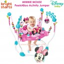 Bright Starts - Minnie Mouse Peek-A-Boo Activity Jumper