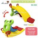 Labeille - New Froggy 2 in 1 Slide & Rocker KC-502