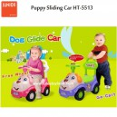 Junior by Child – Puppy Sliding Ride On Car HT-5513