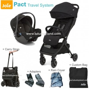 Joie Pact Travel System Traveling Stroller Dan Car Seat