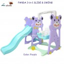 Labeille – Panda 3 in 1 Slide & Swing KC-525