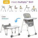 Joie - Meet Multiply 6in1 High Chair