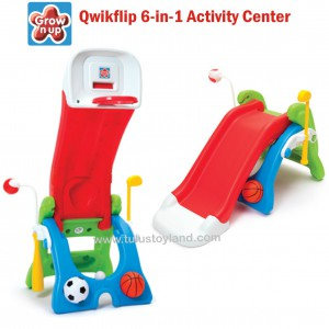 Grow n Up – Qwikflip 6in1 Slide & Sport Activity Center