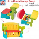 Grow n Up – Sit n Munch Storage Bench