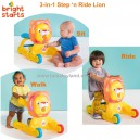 Bright Starts – 3 in 1 Step n Ride Lion