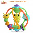 Bright Starts – Clack & Slide Activity Ball