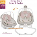 Joie – Serina 2 in 1 Swing and Rocker Flowers Forever