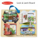 Melissa & Doug - Lock & Latch Board