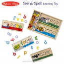 Melissa & Doug – See & Spell Learning Toy