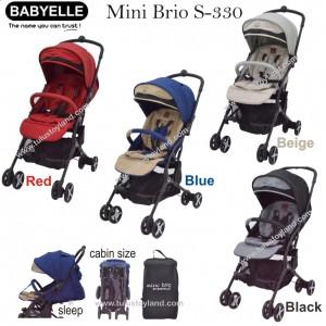 Babyelle  - Mini Brio Stroller S-330