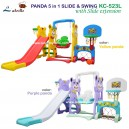 Labeille – Panda 5 in 1 Slide & Swing Grow Activity KC523 L