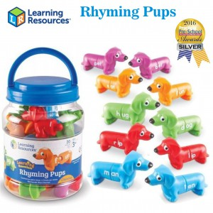 Learning Resources – Snap n Learn Rhyming Pups